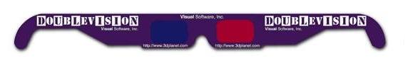 3D Anaglyph Glasses - Doublevision