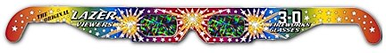 3D Fireworks Glasses,3D Glasses,3dglasses,3-d glasses,Diffraction grating Film,laser shows, fireworks shows,